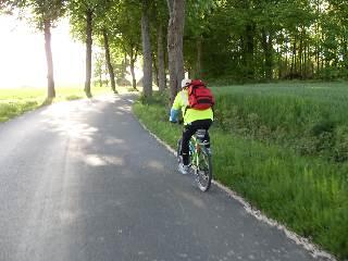Landstraße bei Tetekum